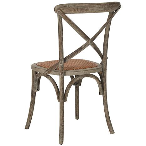 Franklin X Back Side Chair Set Of 2 7907499 HSN