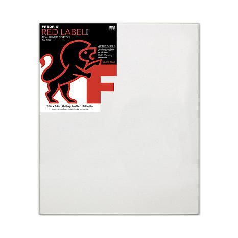 "Fredrix Gallerywrap Stretched Canvas - 20"" x 24"""
