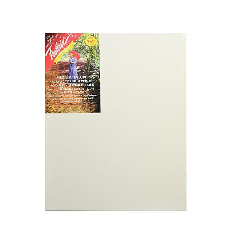"Fredrix Red Label Stretched Cotton Canvas - 14"" x 18"""