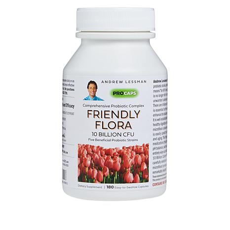 Friendly Flora - 180 Capsules