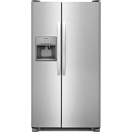 Frigidaire 25.5 Cu. Ft. Side-by-Side Refrigerator - Stainless Steel