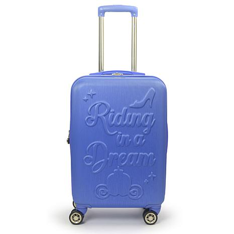 FUL Disney Princess Cinderella Hard-sided 21-inch Carry On Luggage