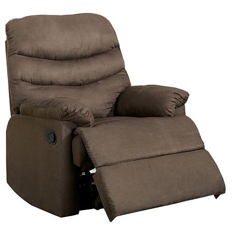 Furniture of America Danielle Microfiber Recliner