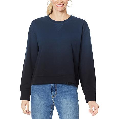 G by Giuliana Dip Dye Sweatshirt