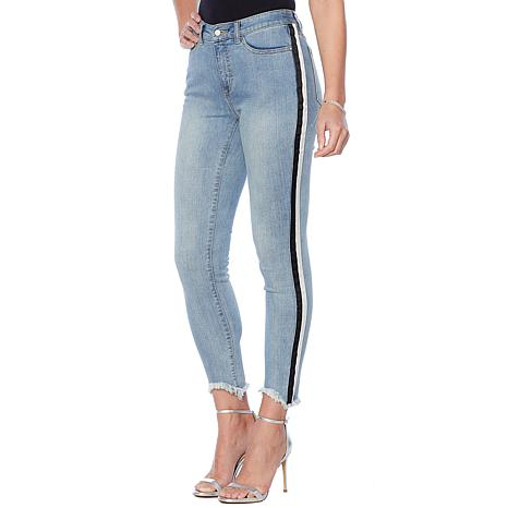 G by Giuliana Downtown Denim Side Stripe Skinny Jean