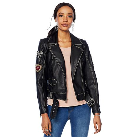 f5ebbdad0b6 G by Giuliana Faux Leather Jacket - 8836589