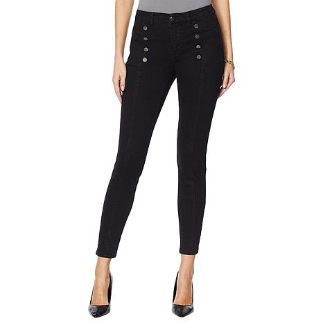 G by Giuliana G-Sculpt™ Skinny Ankle Jean with Buttons