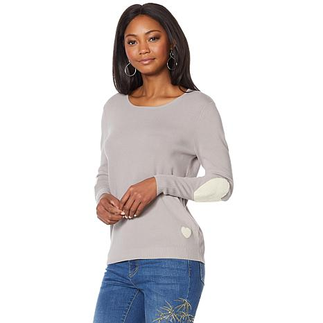 G by Giuliana Novelty Appliqué Sweater
