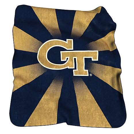 GA Tech Raschel Throw