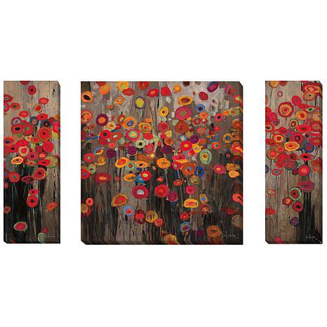 """Garden Parade"" by Heffernan Gallery-Wrapped Giclee"