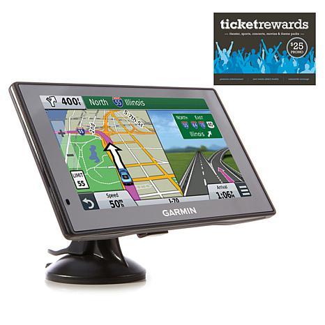 Garmin DriveSmart 51 GPS with Voucher and Mount