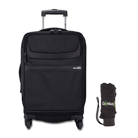 "Genius Pack G3 22"" Carry-On Spinner Luggage with Umbrella"