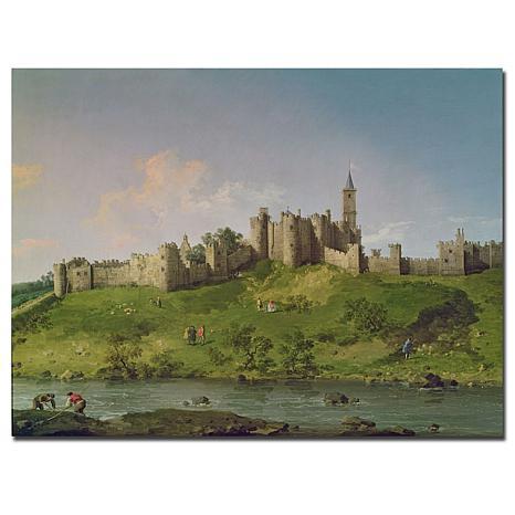 "Giclee Print - Alnwick Castle 24"" x 18"""