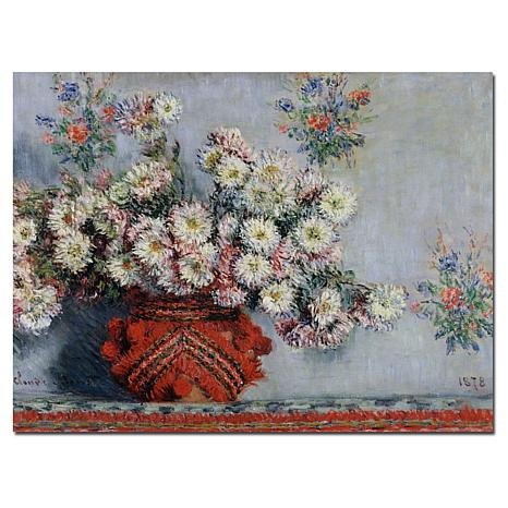 "Giclee Print - Chrysanthemums, 1878 24"" x 18"""