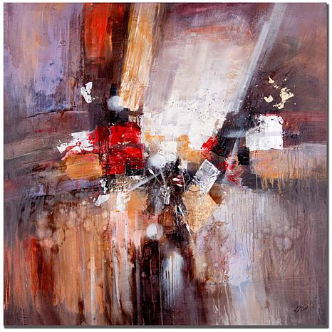 "Giclee Print - Cube Abstract II 35"" x 35"""