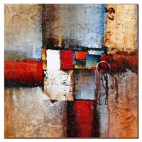 "Giclee Print - Cube Abstract VI 24"" x 24"""