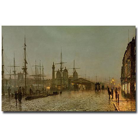 Giclee Print - Hull Docks by Night