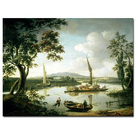 Giclee Print - View of the Thames from Shillingford
