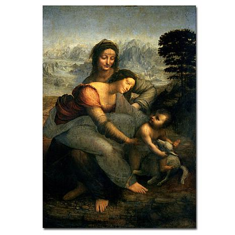 Giclee Print - Virgin and Child with St. Anne