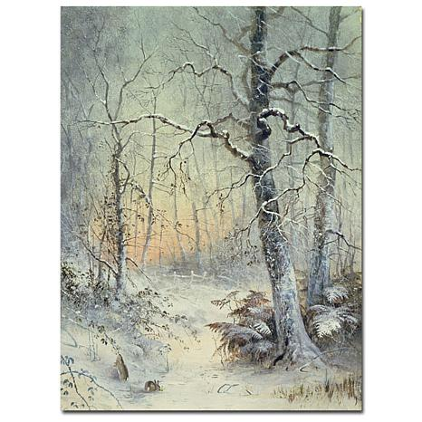 "Giclee Print - Winter Breakfast 18"" x 24"""