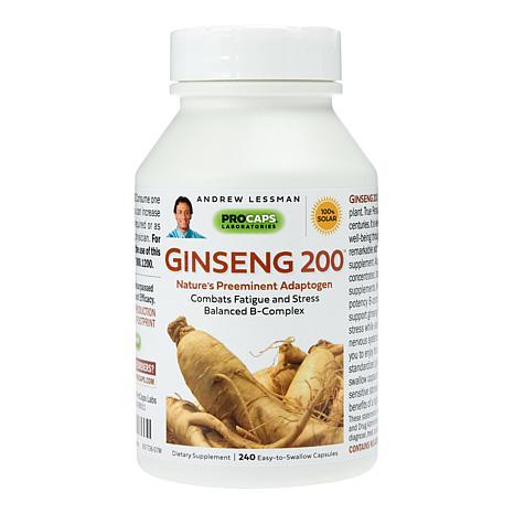 Ginseng-200 - 240 Capsules