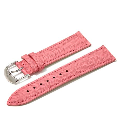 Giorgio Milano Pink Textured Leather Watch Straps