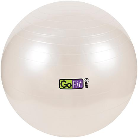 """GoFit Exercise Ball with Pump - 25"""" Diameter"""