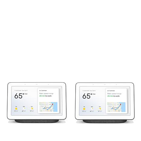 "2-Pack Google Home Hub 7"" Smart Home Controller"