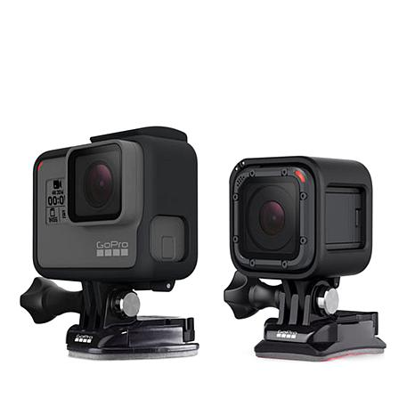 GoPro Flat and Curved Camera Mounts