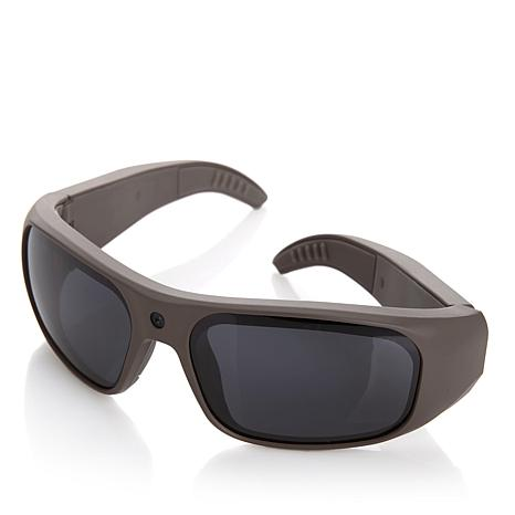 GoVision Water-Resistant Full HD Camcorder Sunglasses with 8GB Memory