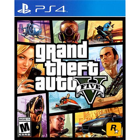 grand theft auto v playstation 4 7859421 hsn