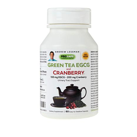 Green Tea EGCG and Cranberry - 360 Capsules