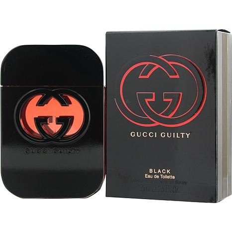 gucci guilty black. gucci guilty black by gucci-edt spray for women 2.5 oz. i