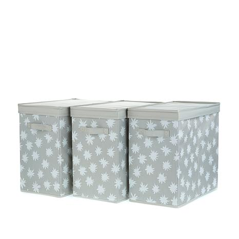 Hable Construction 3-pack Storage Bins with Lids
