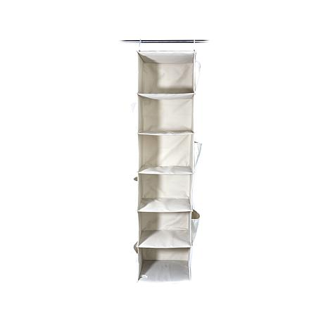 Hable construction 6 shelf organizer 8374580 hsn for Home construction organizer