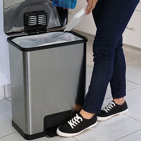 can halo 13 gallon airstep trash - 13 Gallon Trash Can