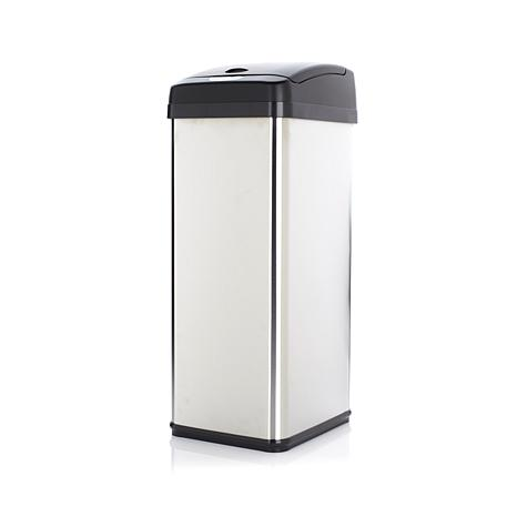 halo 13-Gallon Stainless Steel Sensor Trash Can