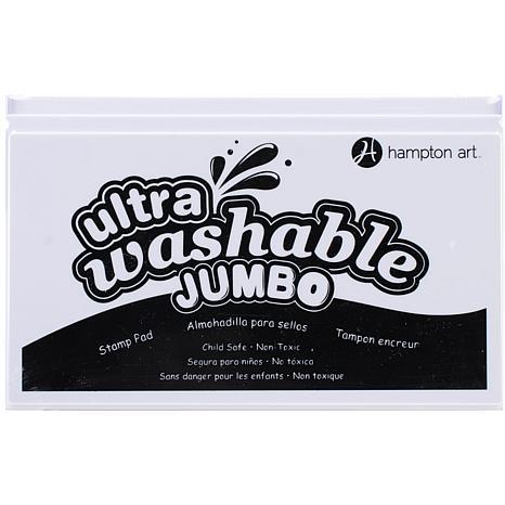 Hampton Art Jumbo Washable Ink Pad - Black