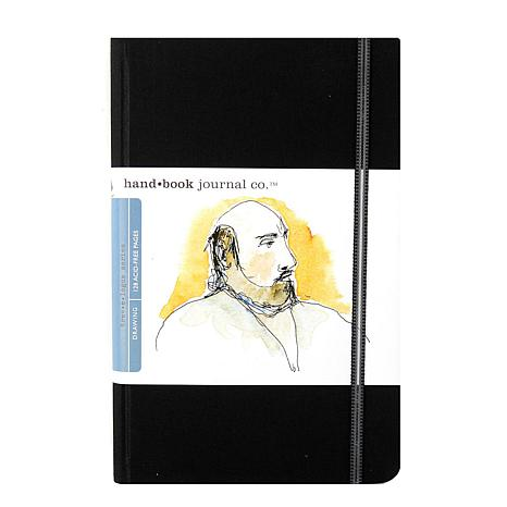Hand Book Journal Co. Travelogue Drawing Journals - Portrait Ivory/Blk
