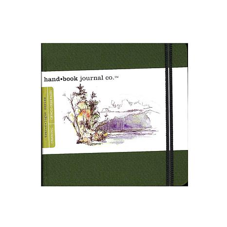 Hand Book Journal Co. Travelogue Drawing Journals - Square Green