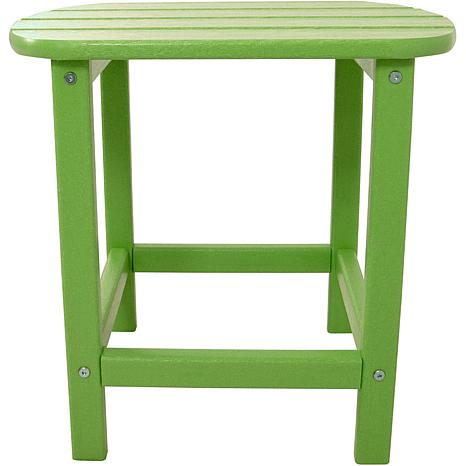Hanover All-Weather Side Table - Lime