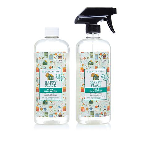 Happy Place 20 oz. Sweet Grass Scent Odor Eliminator 2-pack