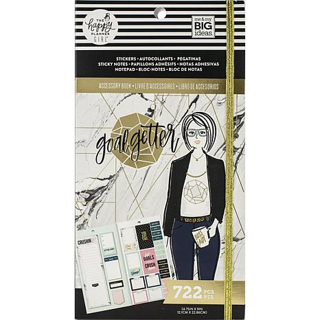 Happy Planner Accessory Book  - Goal Getter