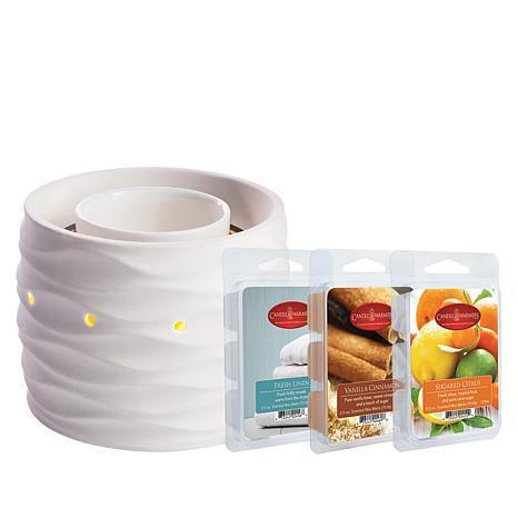 Harmony Fan Fragrance Warmer with 3 Wax Melts