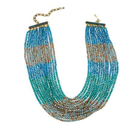"Heidi Daus ""Elegant Solution"" Beaded 14-Strand Necklace"