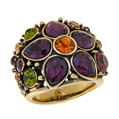 "Heidi Daus ""Fantasy in Florals"" Crystal Ring"