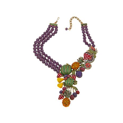 "Heidi Daus ""Feast of Fancy"" Crystal Drop Necklace"