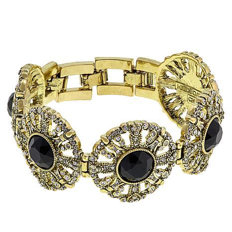 """Heidi Daus """"How Suite It Is"""" Crystal Line Bracelet"""
