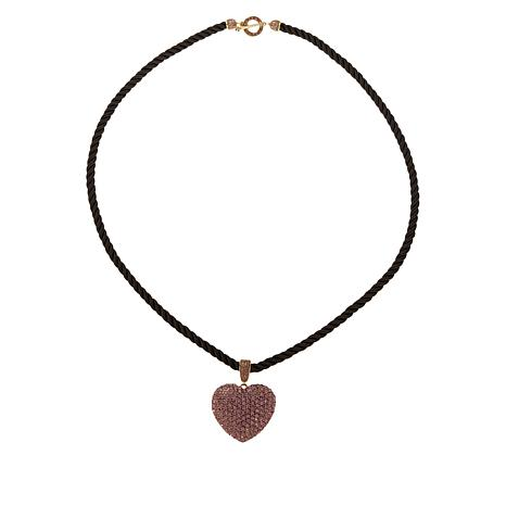 "Heidi Daus ""Love Heidi Style"" Locket Enhancer Pendant with 36"" Cord"