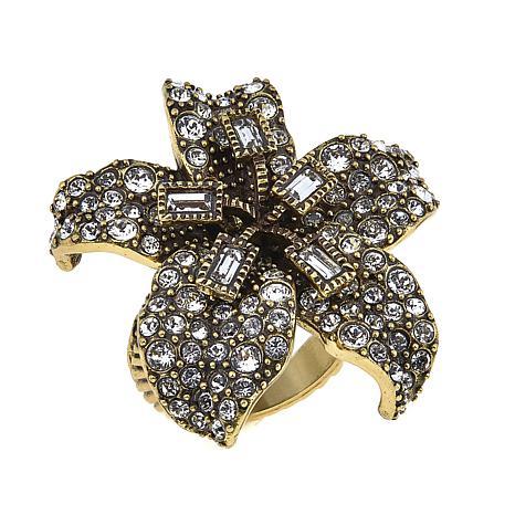 "Heidi Daus ""Star-Gazer"" Crystal Ring"